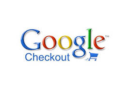 the logo of google checkout, the tool that we are using
