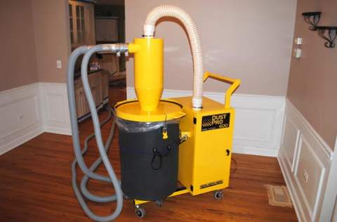 Hardwood Floor Dustless Sanding Vacuum