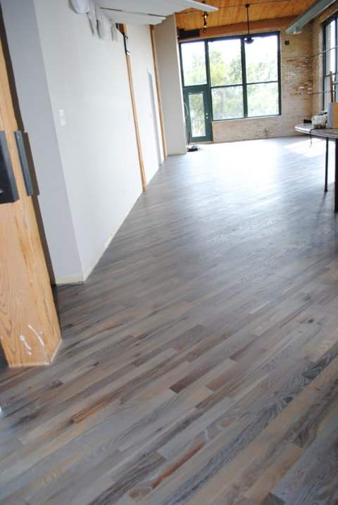 Silver Grey Rubio Monocoat Red Oak