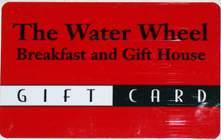 The WaterWheel Gift Card