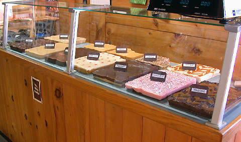 Homemade fudge, Jefferson, NH