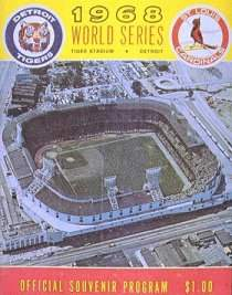 1968 World Series Program