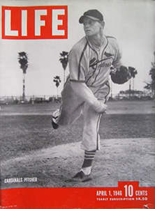 Life Magazine, April 1, 1946, Red Barrett