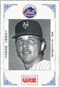 Tommy Moore Baseball Card