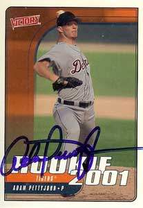 Adam Pettyjohn Autograph on a 2001 Upper Deck (#555)