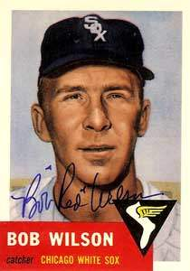 Bob 'Red' Wilson Autograph on a 1991 Topps Archives Baseball Card (#250 | <a href='../baseball_cards/baseball_cards_oneset.php?s=1991top05' title='1991 Topps Archives Baseball Card Checklist'>Checklist</a>)