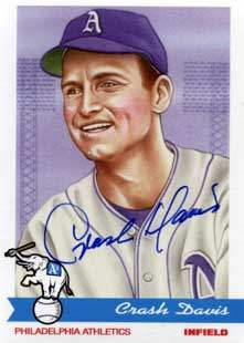 Crash Davis Autograph on a Philadelphia Fan Favorites Baseball Card (#20)