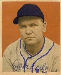 Jake Early Autograph on a 1949 Bowman (#106)
