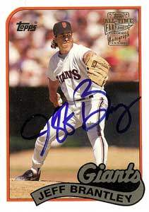 Jeff Brantley Autograph on a 1994 Topps (#FFA-JBR)