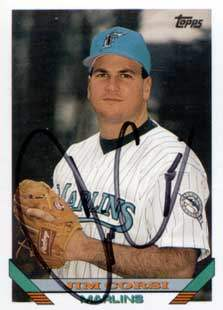 Jim Corsi Autograph on a 1993 Topps (#753)