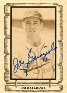Joe Garagiola Autograph on a 1982 Cramer Sports (#76)