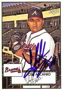 Jose Ascanio Autograph on a 2007 Topps (#188)