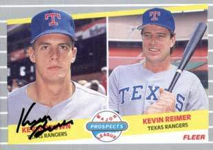 Kevin Brown Autograph on a 1989 Fleer Baseball Card (#641)