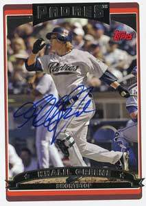 Khalil Greene Autograph on a 2006 Topps (#368)