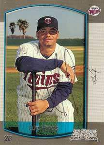 Luis Rivas Autograph on a 2000 Bowman (#44)