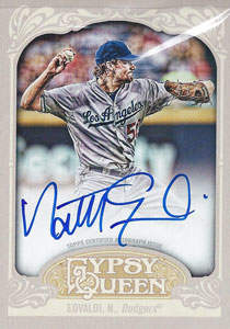 Nathan Eovaldi Autograph on a 2012 Allen & Ginters (#GQA-NE)