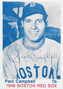 Paul Campbell Autograph on a 1975 TCMA Baseball Card