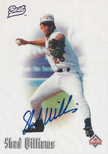 Shad Williams Autograph on a 1996 Best (#n/a)