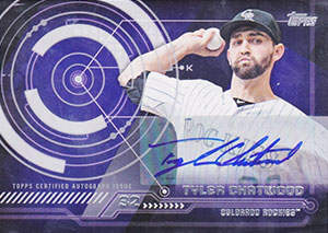 Tyle Chatwood Autograph on a 2014 Topps Series 2 Baseball Card (#TATC)