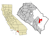 Rancho Santa Margarita Map