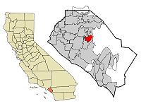 North Tustin Map