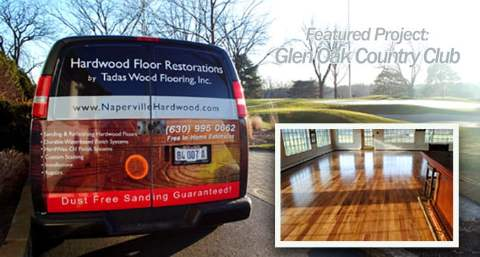 Glen Ellyn Illinois hardwood floors