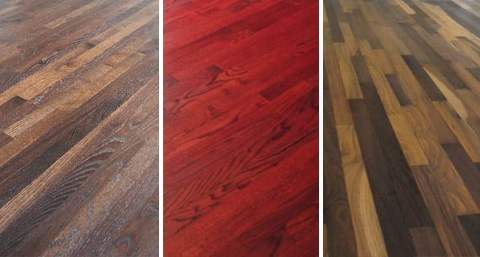 Custom Colored Floors