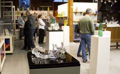The breadth and diversity of glass work is featured front and center in the AIR Program.