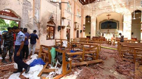 Official Response To Sri Lanka Bombings