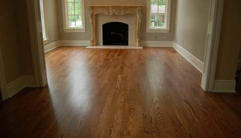 Stained Floor in Naperville