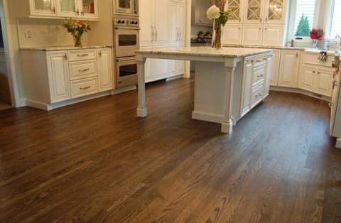 OSMO hardwood floor refinishing in Glen Ellyn, Illinois