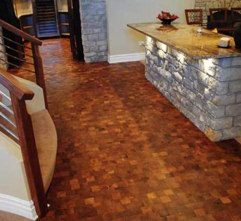 Custom Mesquite Flooring
