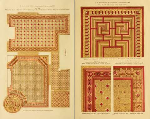 Wood Floor Patterns in the 1800s