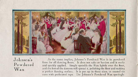 Johnson Wax Dance Floor Ad