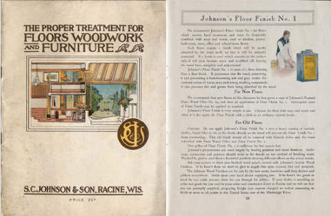 Johnson and Sons Floor Ad