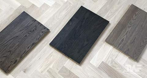 Dark Stain Sample Boards