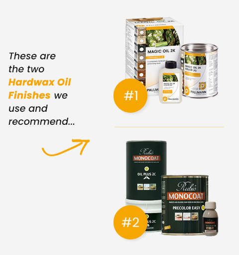 Hardwax Oils We Recommend