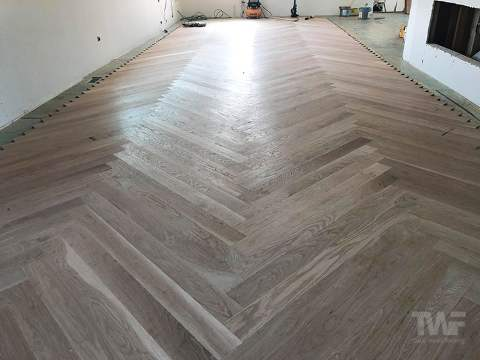 Wood Floor Installed
