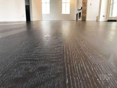 Super Flat Sanded Oak Floors