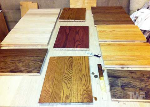 Large Stain Samples