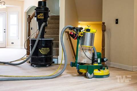 TRIO Nooked to Dustless Vacuum System