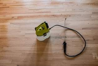 Water Popping Wood Floors