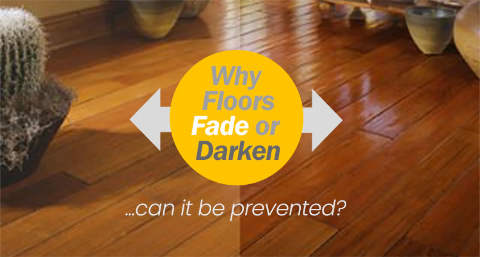 Why Hardwood Floors Fade