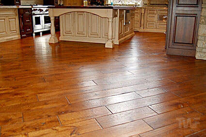 French Oak floor with OSMO hardwax oil