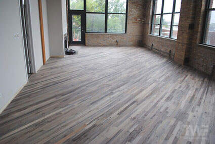 Rubio Monocoat hardwood floor in Logan Square Illinois