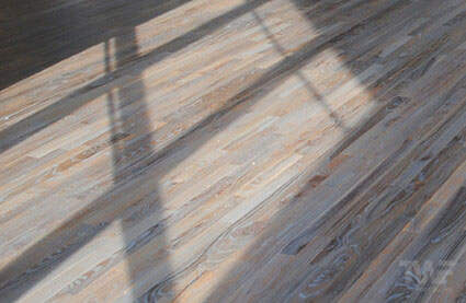 Fumed Rubio Monocoat on Red Oak flooring