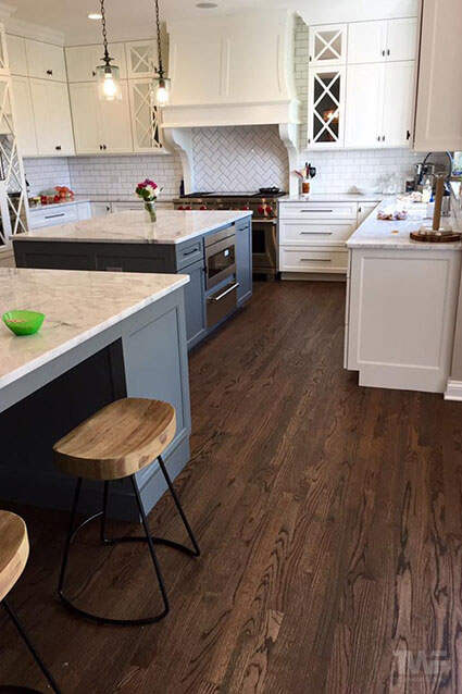 Kitchen with Rubio Monocoat hardwax oil