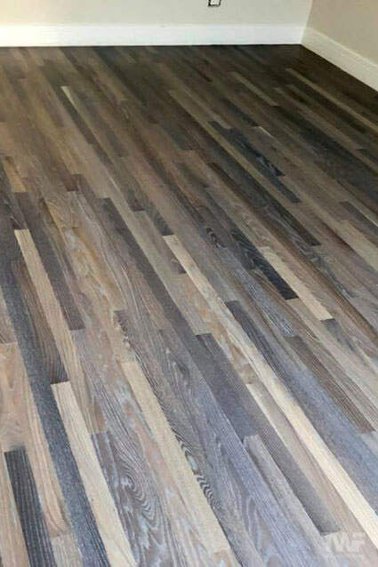 Naperville hardwood floor with hardwax oil