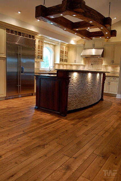 Orland Park Il kitchen with OSMO hardwax oil