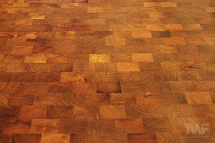 OSMO hardwax oil on Mesquite floor in Orland Park